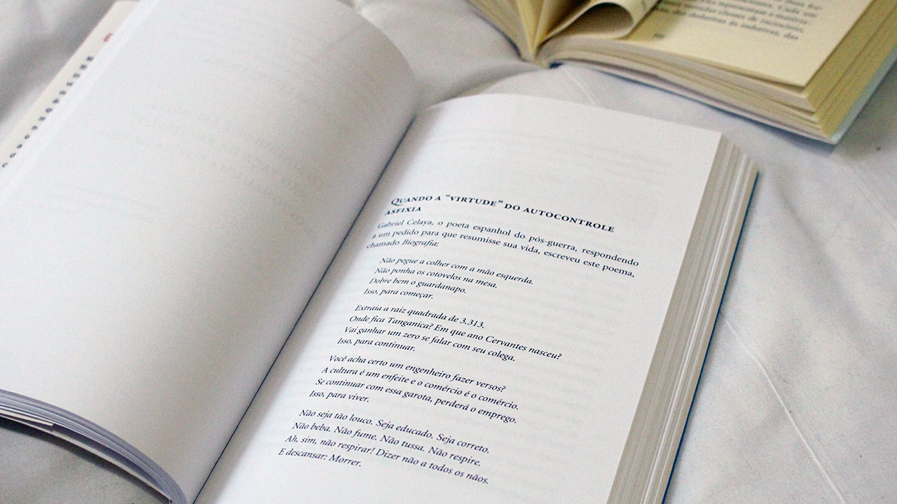 resenha livros Walter Riso - Maravilhosamente imperfeito, escandalosamente feliz