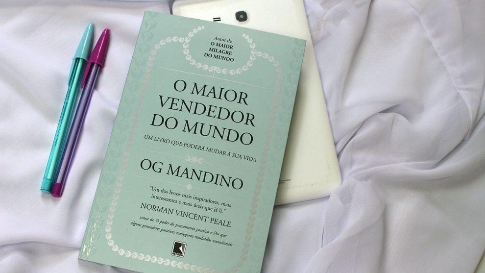 Livro de autoajuda O Maior Vendedor do Mundo de Og Mandino