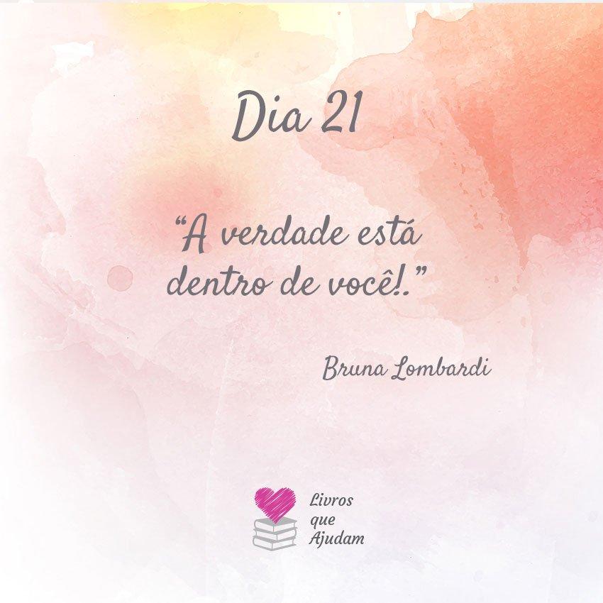 A verdade está dentro de você! – Bruna Lombardi