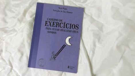 Caderno de exercícios para realizar sonhos